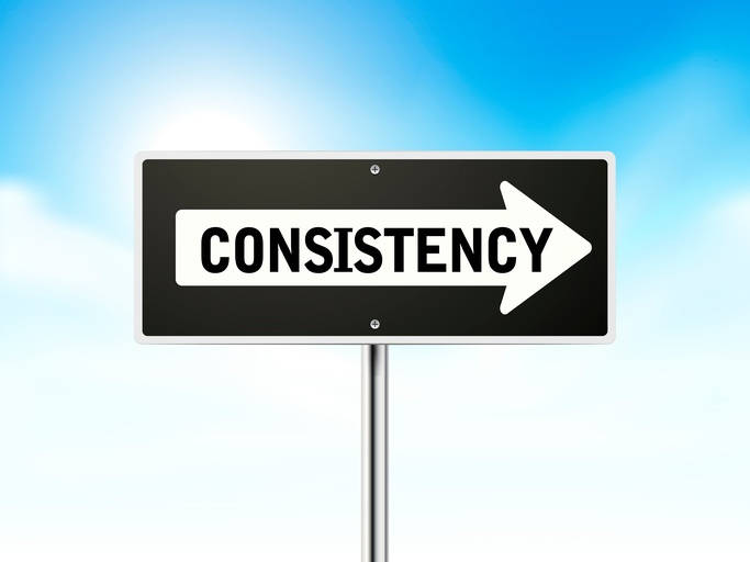 consistency in your marketing